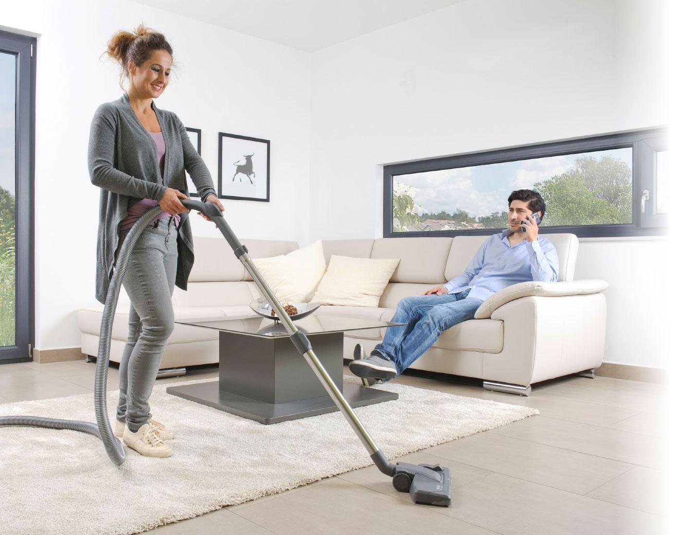 mehr komfort bei der hausreinigung mit der zentralsauganlage von thomas thomas centraclean. Black Bedroom Furniture Sets. Home Design Ideas